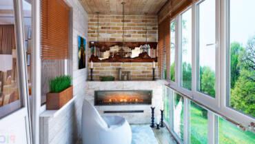 Прибирання балконів і лоджій