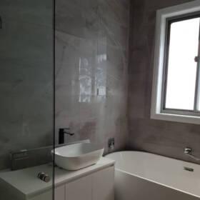 Уборка ванной после строительства ДО