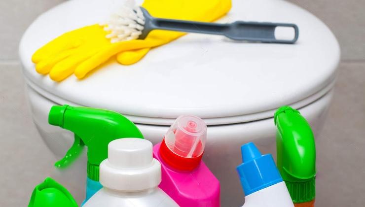 Уборка ванной и санузла